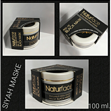 NATURFACE BLACK MASK